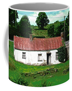 Coffee Mug featuring the photograph Cottage In Donegal, Ieland by Stephanie Moore