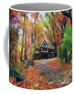 Cottage In The Woods Coffee Mug
