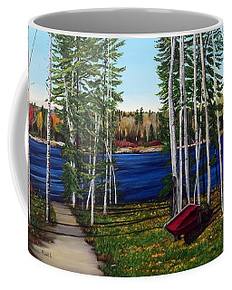 Cottage Life Coffee Mug