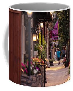 Cottage Street Stroll Coffee Mug