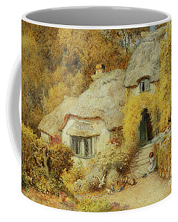 Cottages At Selworthy, Somerset Coffee Mug