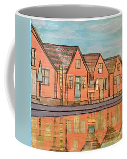 Cottages By The Beach Coffee Mug