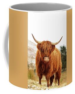 cottish Highland Cow Loch Lomond Coffee Mug