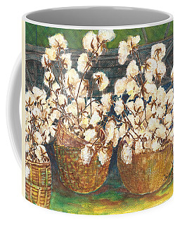 Cotton Basket Coffee Mug