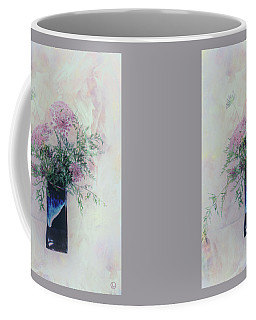 Coffee Mug featuring the photograph Cotton Candy Dreams by Linda Lees