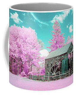 Coffee Mug featuring the photograph Cotton Candy Grist Mill by Brian Hale