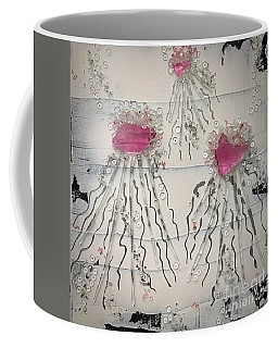Cotton Candy Jelly-fish Coffee Mug