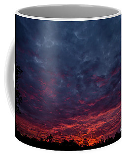 Cotton Candy Sky Coffee Mug by Cheryl Baxter