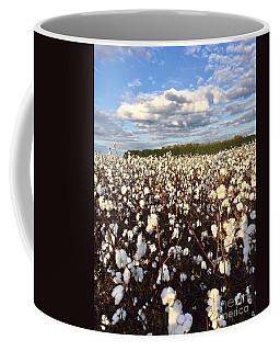 Cotton Field In South Carolina Coffee Mug