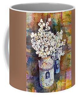 Cotton Stalks Coffee Mug