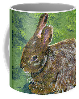 Cottontail Coffee Mug by Lynne Reichhart