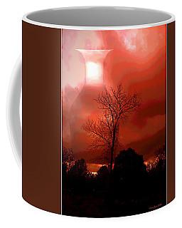 Coffee Mug featuring the photograph Cottonwood Crimson Sunset by Joyce Dickens