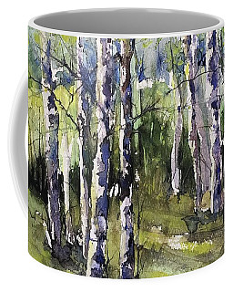 Cottonwoods And Sycamores Coffee Mug