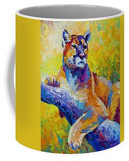 Cougar Portrait I Coffee Mug