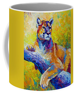 Cougar Portrait I Coffee Mug