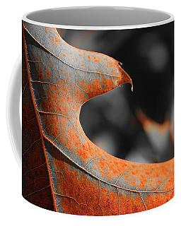 Cougar Rusty Leaf Detail Coffee Mug