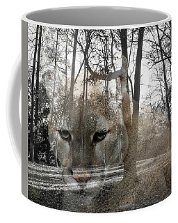 Cougar The Cunning One Coffee Mug