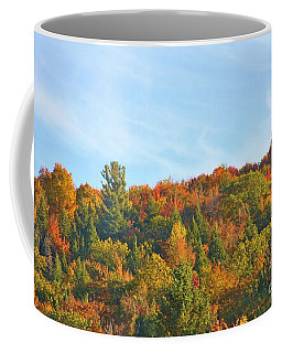 Coffee Mug featuring the photograph Couleurs D' Automne by Aimelle