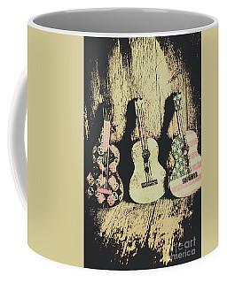 Country And Western Saloon Songs Coffee Mug