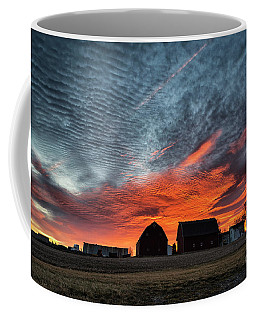 Country Barns Sunrise Coffee Mug