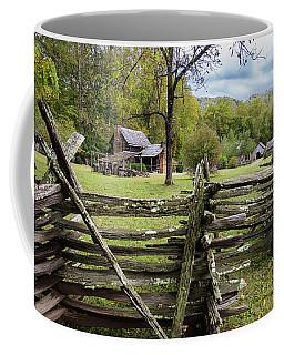 Country Cabin And Fence Coffee Mug