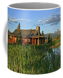 Coffee Mug featuring the photograph Country Cabin by Ronnie and Frances Howard