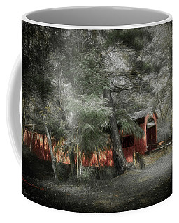 Coffee Mug featuring the photograph Country Crossing by Marvin Spates