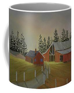 Country Farm Coffee Mug