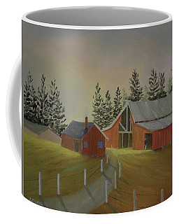 Country Farm Coffee Mug