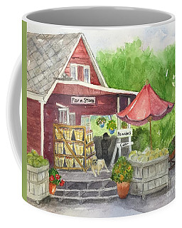 Country Farmer's Market Coffee Mug