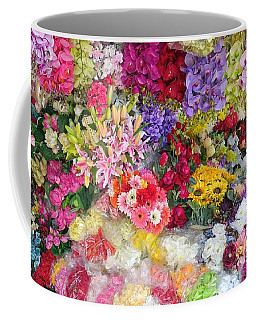 Country Flower Garden Colourful Design Coffee Mug