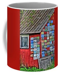 Country Graffiti Coffee Mug