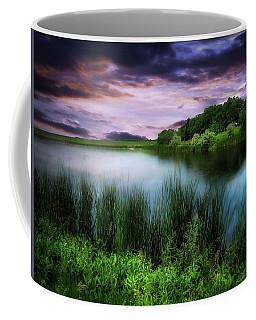 Country Lake Coffee Mug
