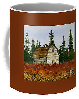 Coffee Mug featuring the painting Country Landscape by James Williamson