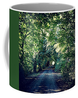 Country Lane, Tree Tunnel Coffee Mug