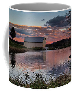 Coffee Mug featuring the photograph Country Living Sunset by Lara Ellis