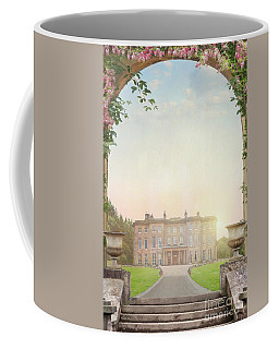 Country Mansion At Sunset Coffee Mug