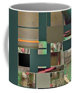 Country Mosaic Coffee Mug by Andrew Drozdowicz