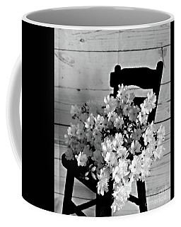 Country Porch In B And W Coffee Mug by Sherry Hallemeier