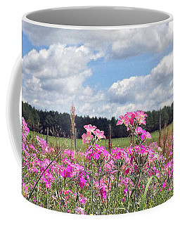 Coffee Mug featuring the photograph Country Roads by LeeAnn Kendall