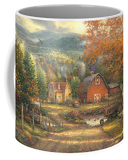 Country Roads Take Me Home Coffee Mug