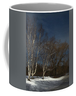 Country Roadside Birch Coffee Mug