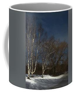 Country Roadside Birch Coffee Mug