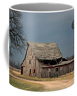 Country Roof Collapse Coffee Mug by Kathy M Krause