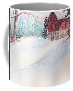 Country Snowscape Coffee Mug
