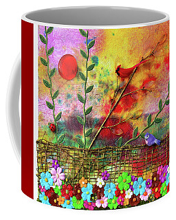Country Sunrise Coffee Mug by Donna Blackhall