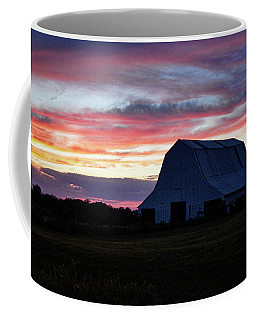 Coffee Mug featuring the photograph Country Sunset by Cricket Hackmann