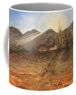 Coffee Mug featuring the pastel Country Sunset by Norma Duch