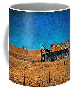 Countryside Abandoned House Coffee Mug