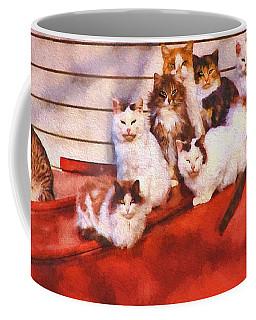 Countryside Cats Coffee Mug